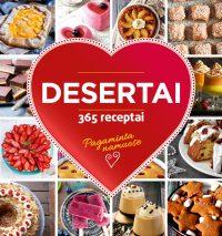 Desertai. 365 receptai