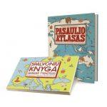 RINKINYS: Pasaulio atlasas ir Spalvonių knyga jaunajam tyrinėtojui 1