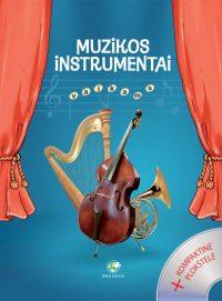 Muzikos instrumentai vaikams (su CD)