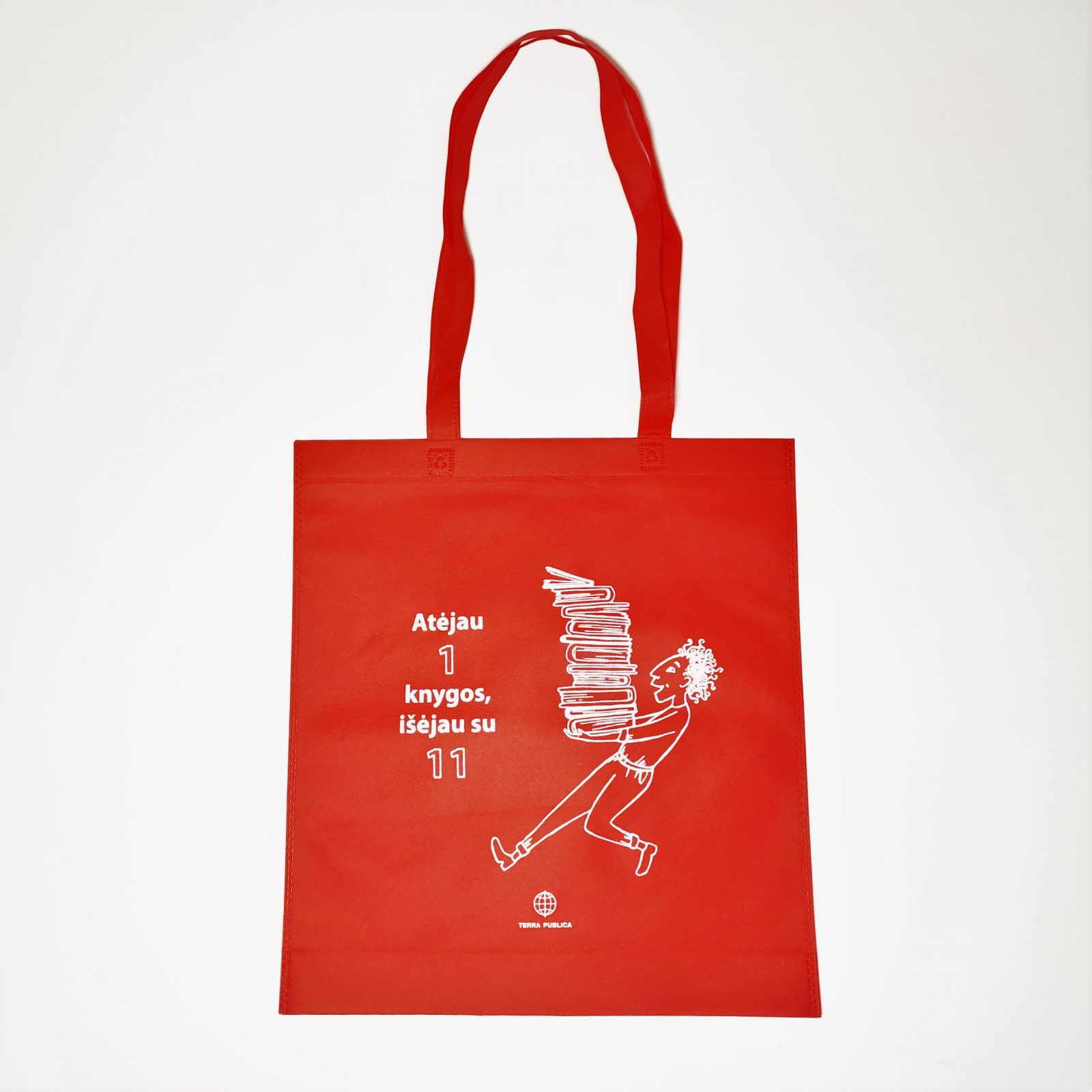 "Medžiaginis ""Terra Publica"" maišelis"