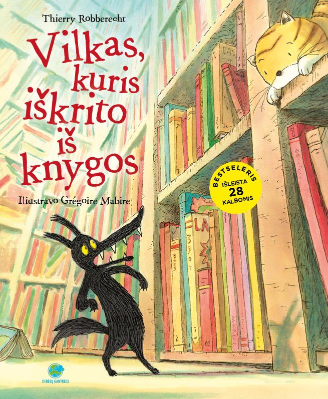 Vilkas, kuris iškrito iš knygos