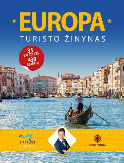 Europa. Turisto žinynas ( su mini defektais )