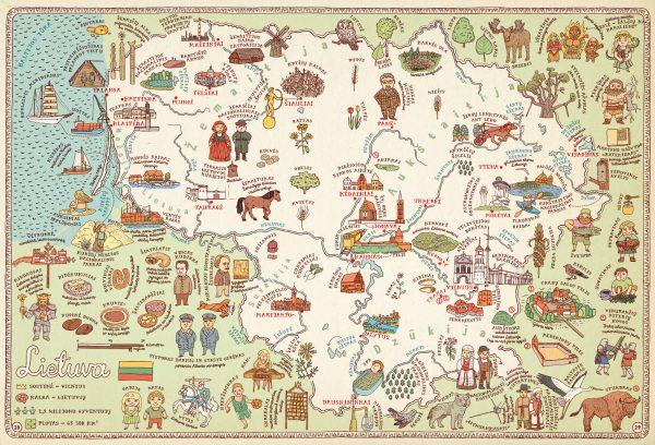 RINKINYS: Pasaulio atlasas ir Spalvonių knyga jaunajam tyrinėtojui 2