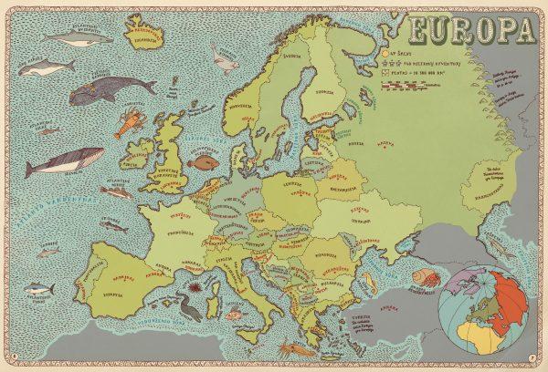 RINKINYS: Pasaulio atlasas ir Spalvonių knyga jaunajam tyrinėtojui 3
