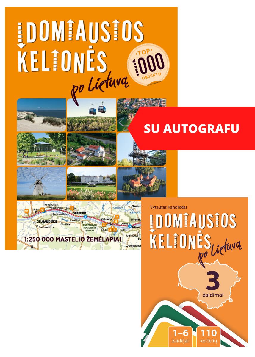 RINKINYS: Įdomiausios kelionės po Lietuvą