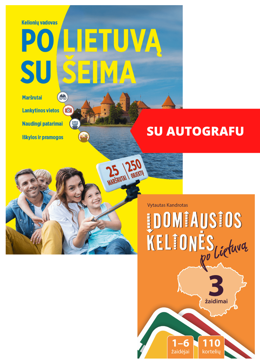RINKINYS: Po Lietuvą su šeima, Įdomiausios kelionės po Lietuvą